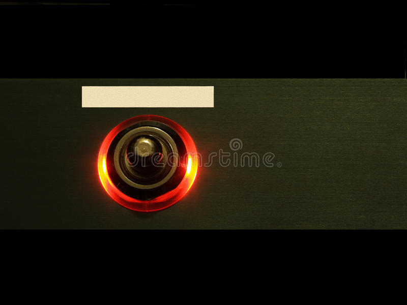 Interruptor fotografía de archivo libre de regalías