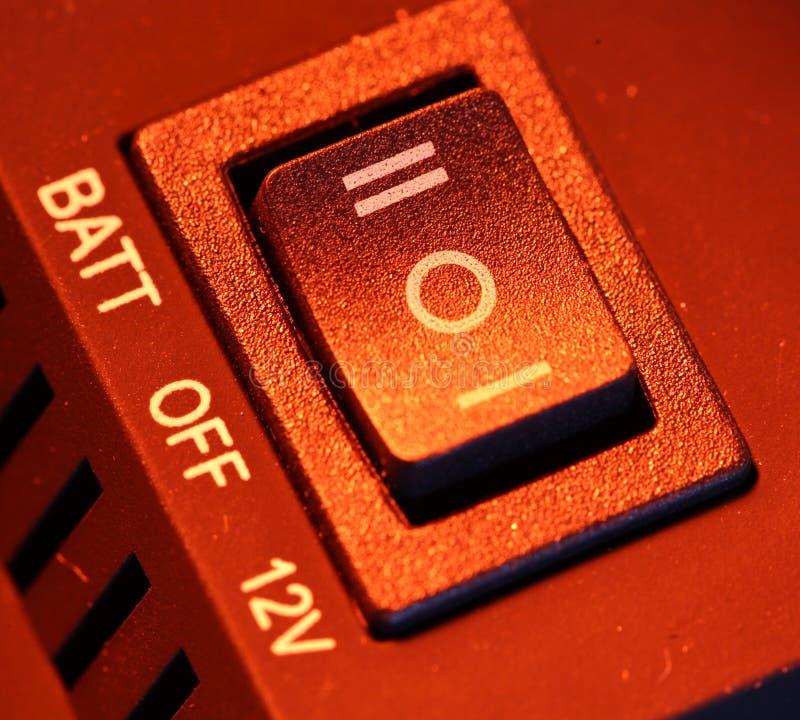 Interruptor foto de archivo