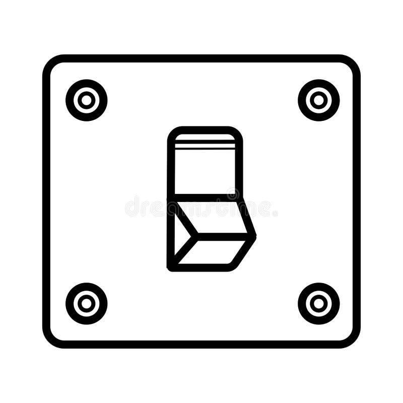 Interruptor da luz, vetor ilustração stock