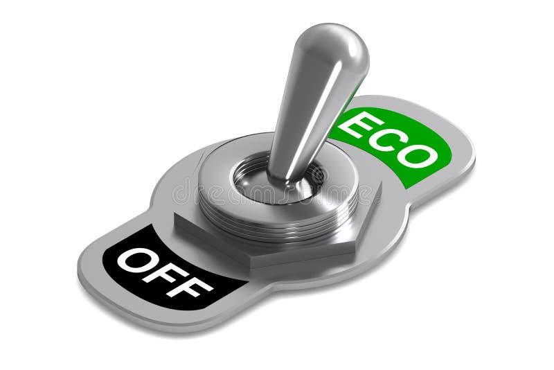 Interruptor de Eco ilustración del vector