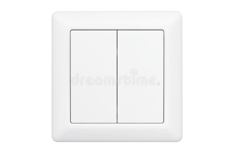 Interruptor de la luz doble moderno del botón libre illustration