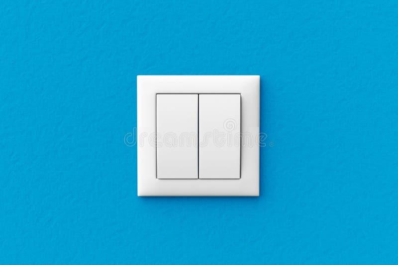 Interruptor de la luz moderno ilustración del vector