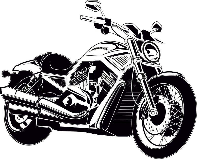 Interruptor de la moto stock de ilustración