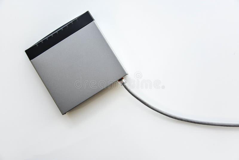 Interruptor de rede pequeno imagens de stock royalty free