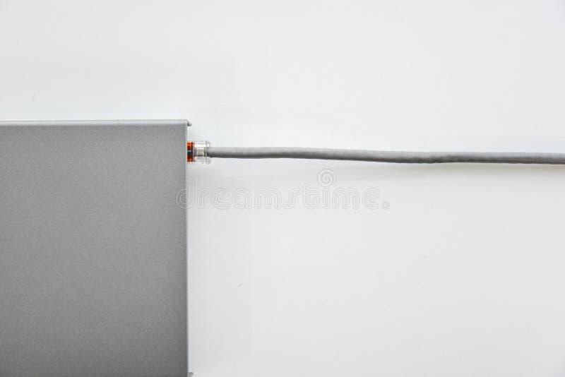 Interruptor de rede pequeno fotos de stock