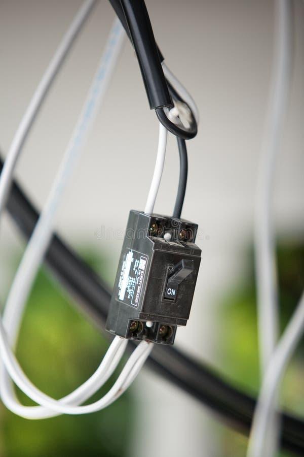 Interruptor de seguran?a imagens de stock