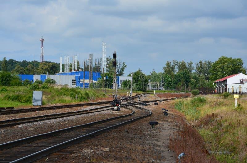Download Interruptor Del Ferrocarril Del Cargo Imagen de archivo - Imagen de ferrocarril, interruptor: 42431105
