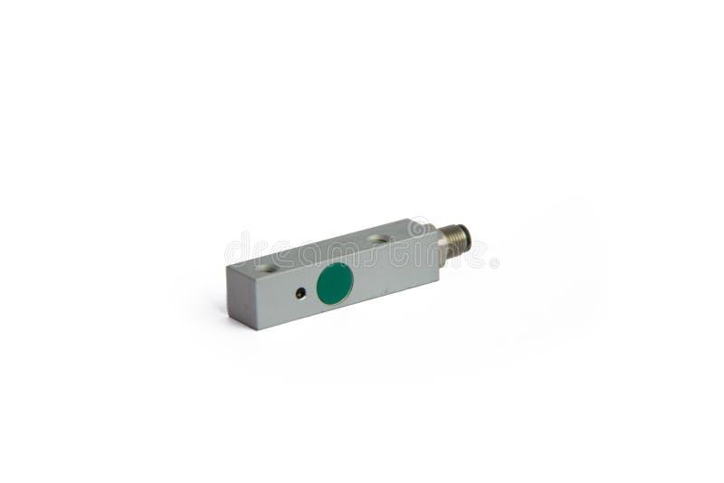 Interruptor del sensor de proximidad cuadrada electrónico fotografía de archivo