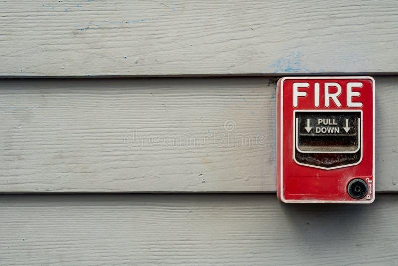 Interruptor do fogo fotos de stock