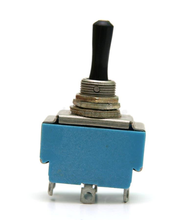 Interruptor eléctrico de la vendimia fotos de archivo libres de regalías