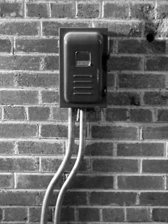 Interruptor en la pared imagen de archivo libre de regalías