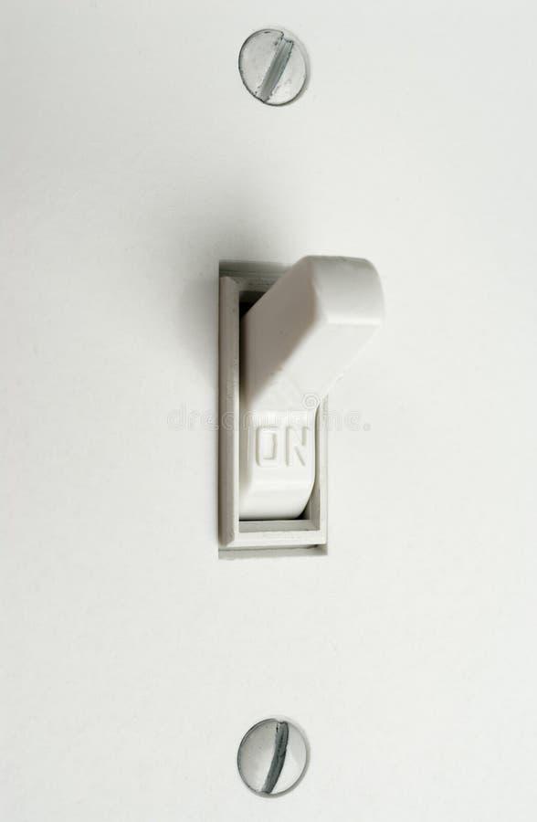 Interruptor ligero. foto de archivo