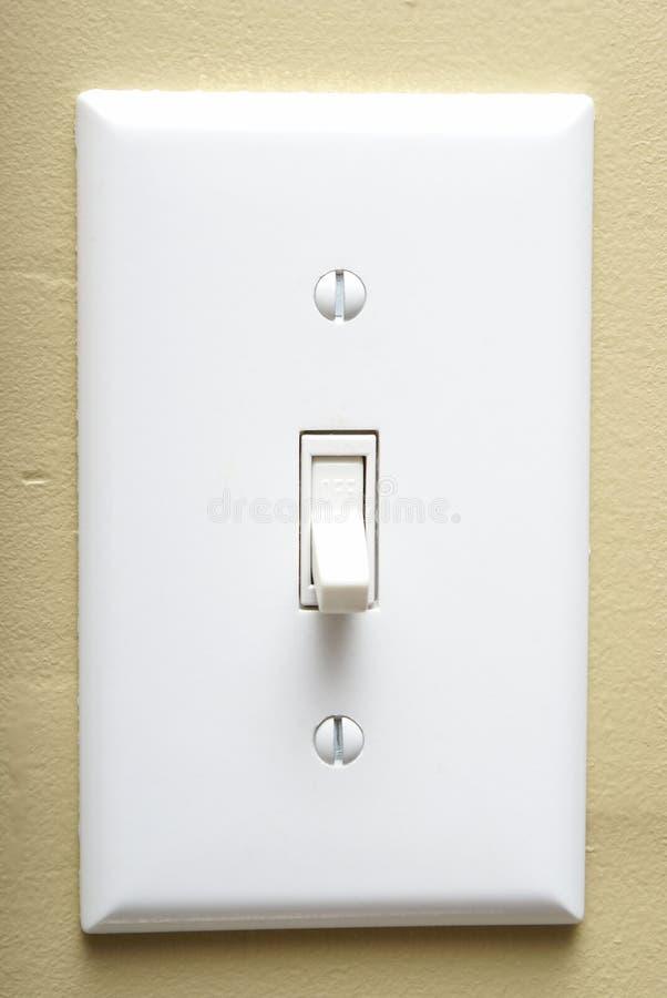 Interruptor ligero fotografía de archivo libre de regalías