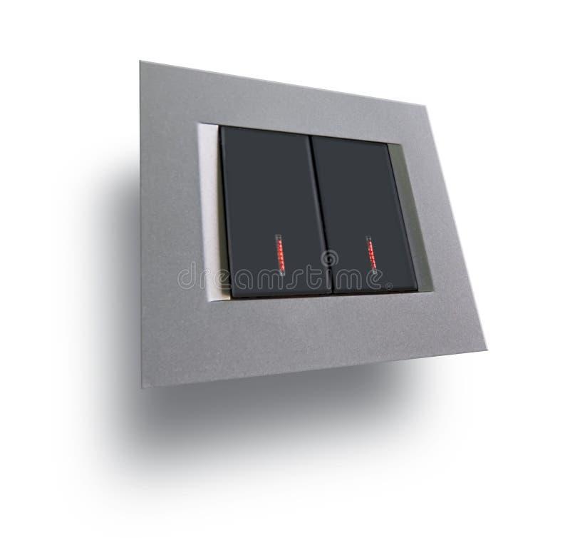 Interruptor ligero foto de archivo libre de regalías