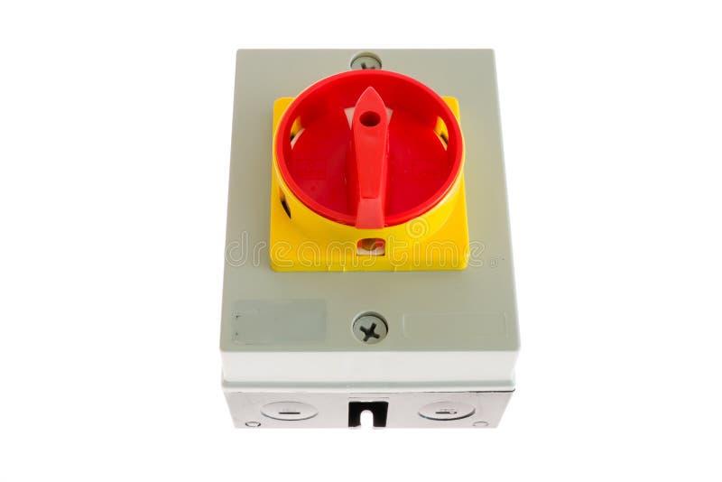 Interruptor rotatorio fotos de archivo
