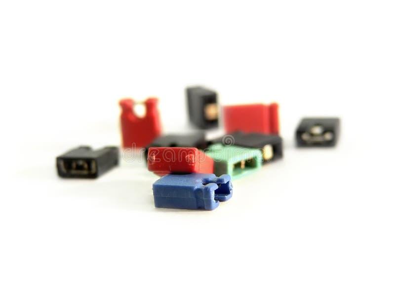 Interruptores da ligação em ponte fotos de stock
