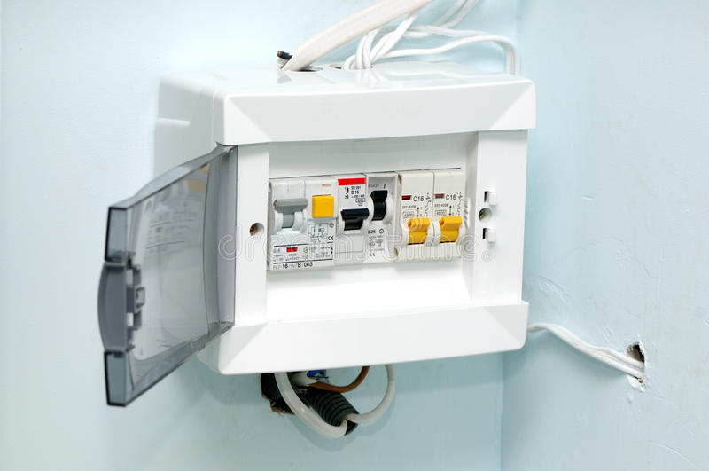 Interruttori elettrici immagine stock immagine di - Convettori elettrici da parete ...