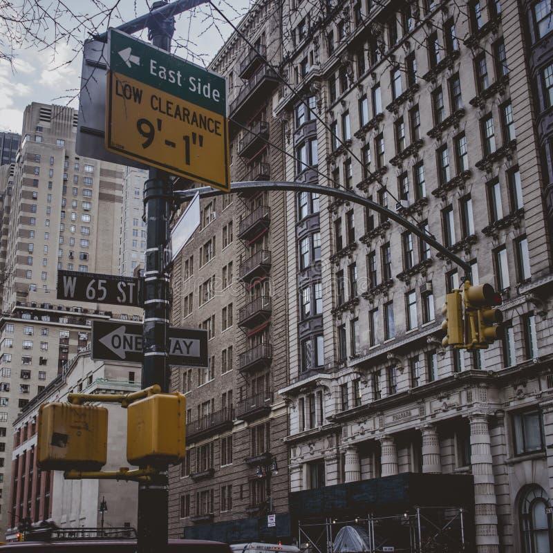 Intersección de Nueva York imagenes de archivo
