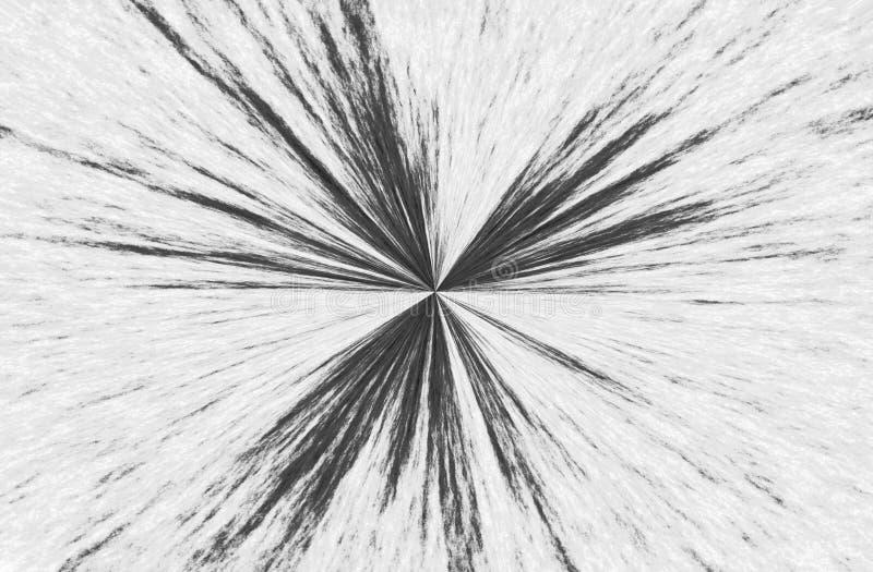 Intersection au point abrégez le fond Noir sur gris-clair illustration stock