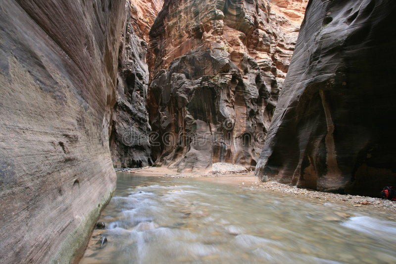 Intersection de gorge image stock