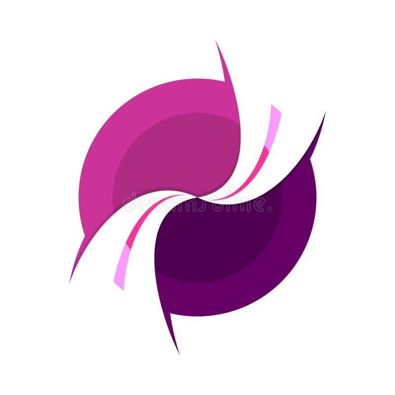 Free Intersection Harmony Circular Symbol Logo Design Royalty Free Stock Images - 112241479