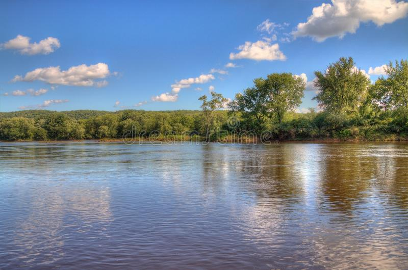 Interstate State Park is located on the St. Croix River by Taylor Falls, Minnesota stock photography