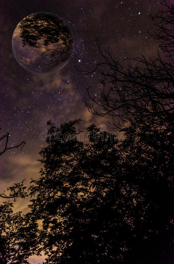interstellaire photographie stock