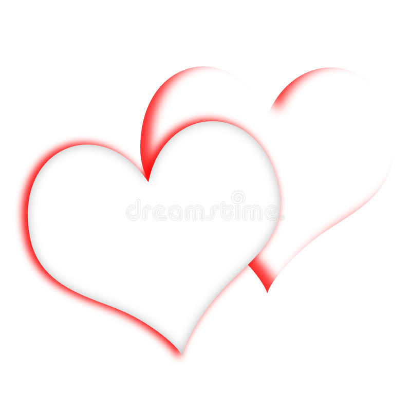 Free Intertwined Hearts Show Romanticism And Royalty Free Stock Photo - 40232885