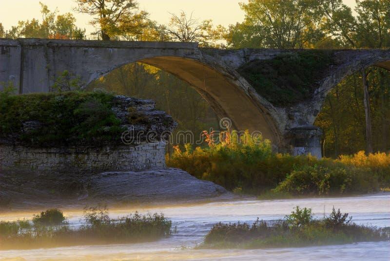 Interurban bro arkivfoto