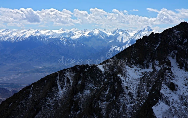 Intervalle de l'Himalaya photo libre de droits