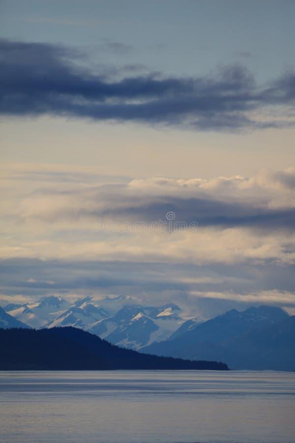 intervalle de montagne d'Alaska photo libre de droits