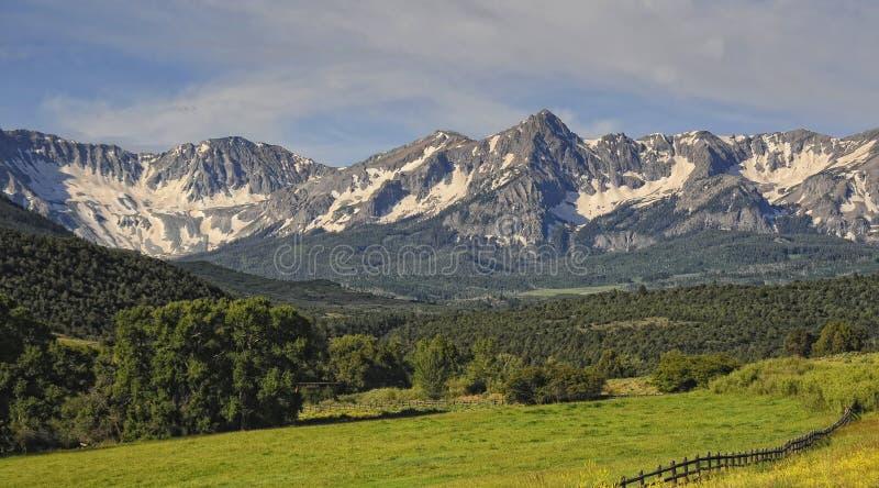 Intervalle de montagne de Sneffels images stock