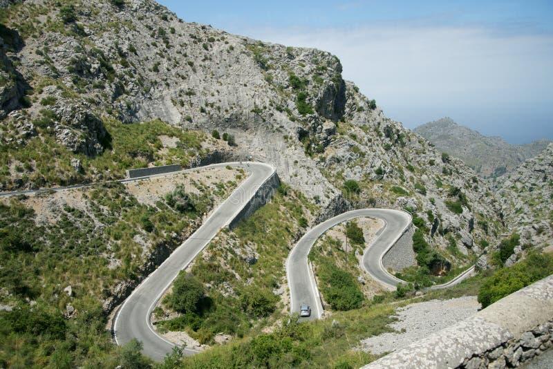 Intervalle de montagne de Tramuntana, Majorque images stock