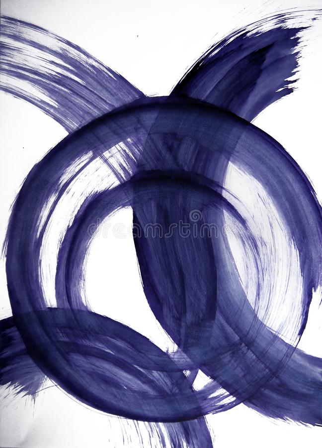Intervalle harmonieux de cercles, inspiration de délice intérieur image libre de droits