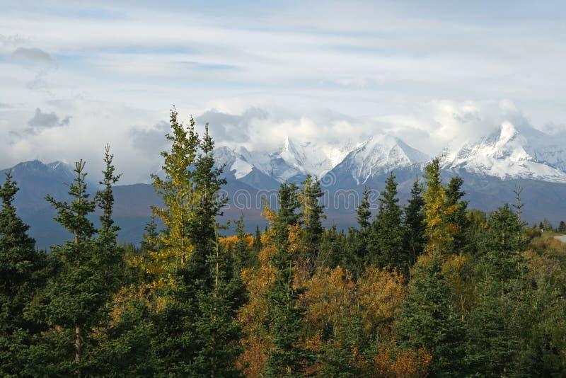 Intervallo d'Alasca fotografia stock