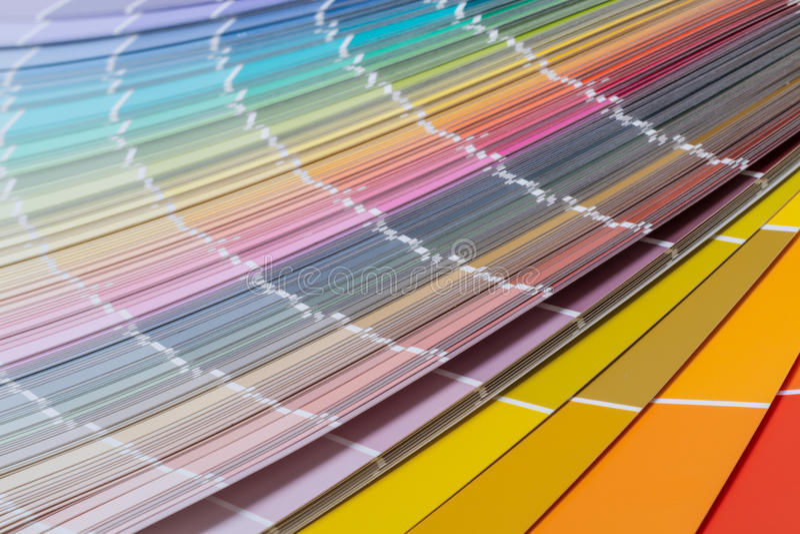 Intervallo di colore dei precedenti fotografia stock libera da diritti