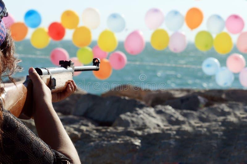 Intervallo di fucilazione fotografie stock libere da diritti