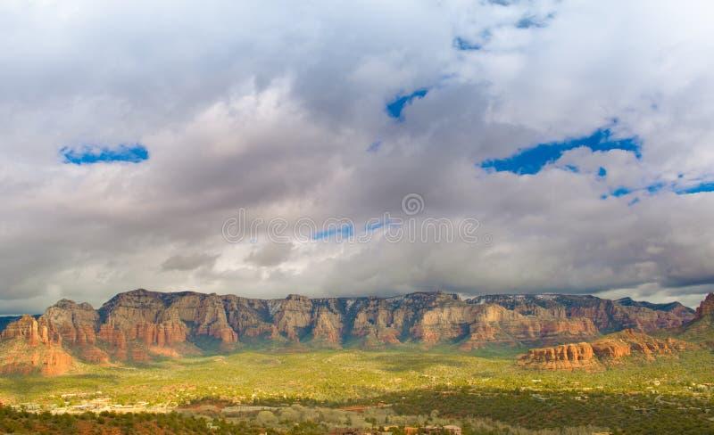 Intervallo di montagna di Sedona fotografia stock libera da diritti