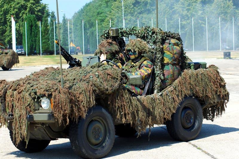 Intervention militaire photographie stock libre de droits