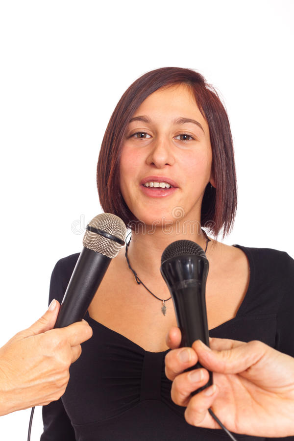 Interview Stock Image
