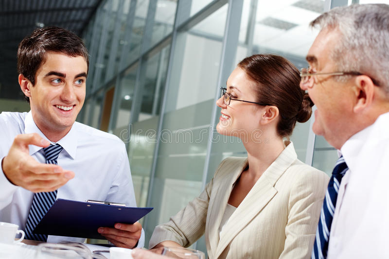 Download Interview stock photo. Image of corporate, idea, happy - 26817082