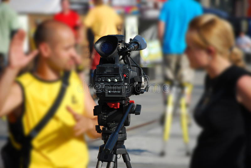 Interview Lizenzfreies Stockbild