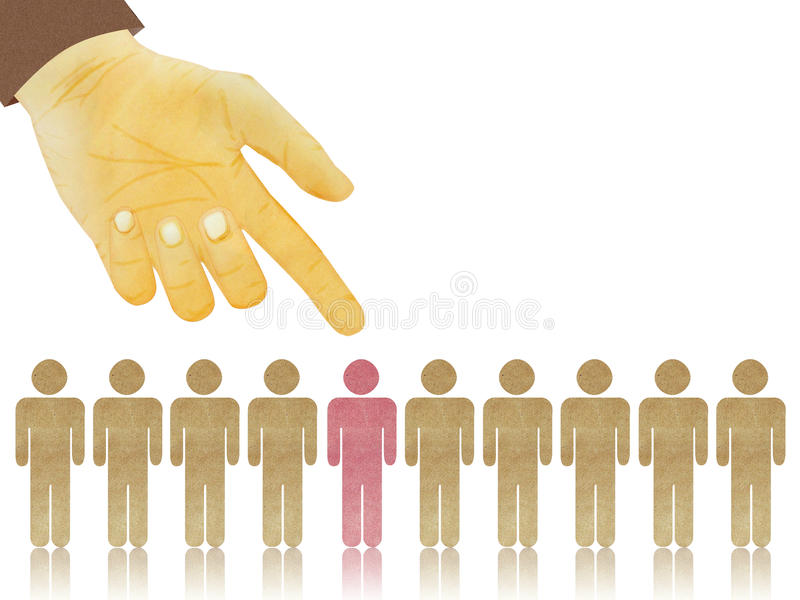 Download Interview Concept - Hand Selected One From Candid Stock Illustration - Image: 26008539