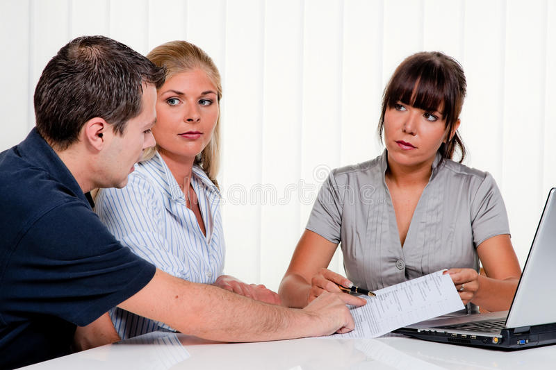 Download Interview With A Consulting Stock Image - Image: 9893013