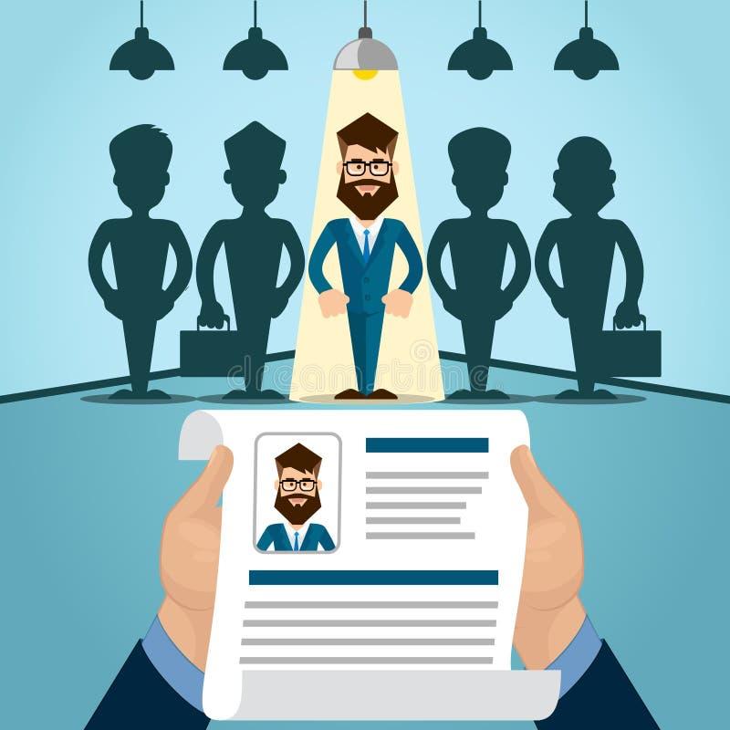 Interview Job vector illustration