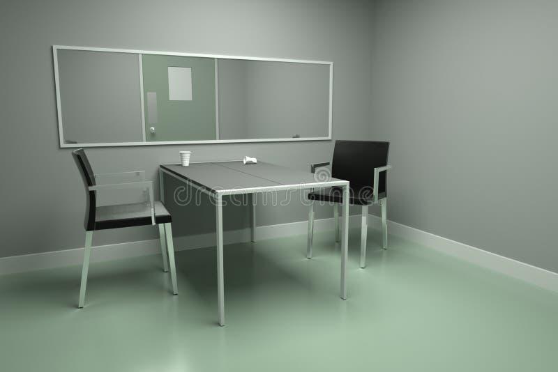 Interview room stock illustration