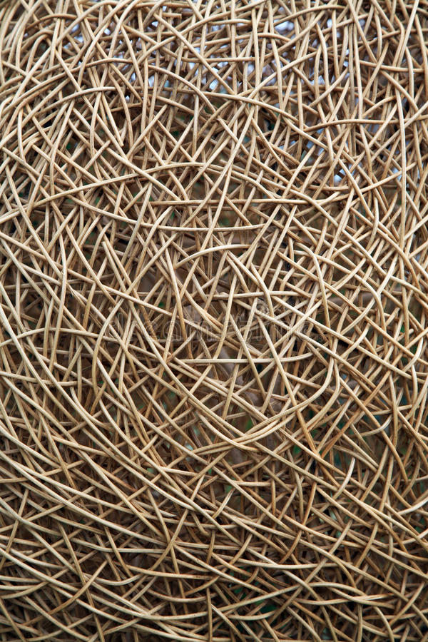 Download Interwoven wicker material stock photo. Image of rough - 13242146