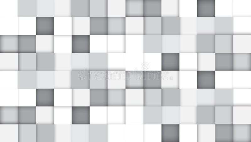 Intestazione digitale del sito Web di tecnologia astratta Priorità bassa della bandiera illustrazione vettoriale