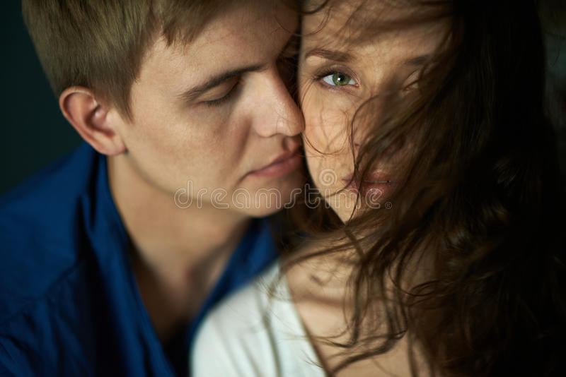 intimacy lizenzfreie stockbilder