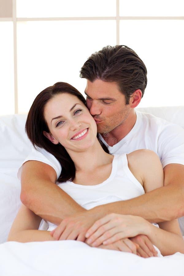 Download Intimate couple hugging stock image. Image of beautiful - 12725921